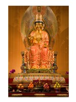 Statue of Buddha in a Temple - various sizes, FulcrumGallery.com brand