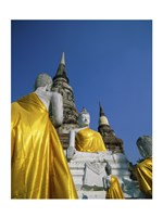 Buddha Statue at a Temple, Wat Yai Chai Mongkol, Ayutthaya, Thailand - various sizes