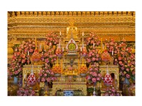 Statue of Buddha in a Temple,  Bangkok, Thailand - various sizes, FulcrumGallery.com brand