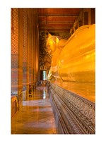 Statue of reclining Buddha in a Temple - various sizes