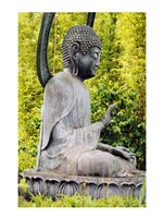 USA, California, San Francisco, Golden Gate Park, Buddha Statue - various sizes