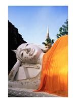 Reclining Buddha, Wat Yai Chai Mongkhon, Ayutthaya, Thailand - various sizes