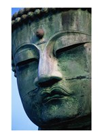 Close-up of a statue of Buddha, Daibutsu, Kamakura, Tokyo, Japan - various sizes