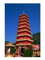 Ten Thousand Buddhas Monastery Fine Art Print