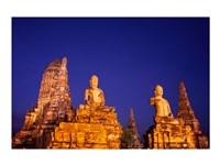 Buddha at a Temple,  Ayutthaya Historical Park, Thailand - various sizes