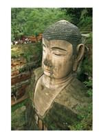 Giant Buddha Statue Leshan China