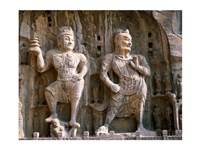 Bodhisattva and Guardian Statues, Luoyang, China - various sizes