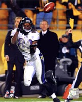 """Torrey Smith Game Winning Touchdown Catch Vs. the Pittsburgh Steelers 2011 Action - 8"""" x 10"""""""