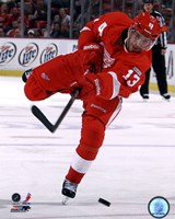 Pavel Datsyuk 2011-12 Action Fine Art Print