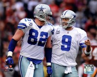 Jason Witten & Tony Romo 2011 Action Fine Art Print