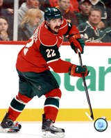 """Cal Clutterbuck 2011-12 Action - 8"""" x 10"""", FulcrumGallery.com brand"""