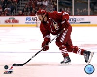 Shane Doan 2011-12 Action Fine Art Print