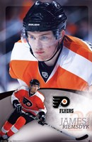 Flyers® - J Van Riemsdyk 11 Wall Poster