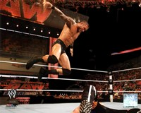 Randy Orton 2011 Action Fine Art Print