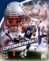 Rob Gronkowski 2011 Portrait Plus Fine Art Print