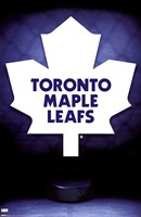 Maple Leafs® - Logo 09 Wall Poster