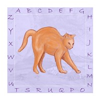 Cat Alphabet Fine Art Print