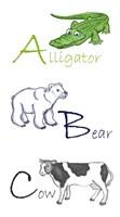 ABC Animals - various sizes - $18.99