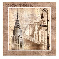 New York Serenade Fine Art Print