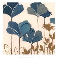 """Ladybug Flowers II by Nicola De Maria - 20"""" x 20"""""""