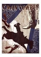 """C'mon Cowboy by Tandi Venter - 20"""" x 28"""""""