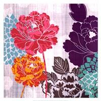 Peony Patterns I Fine Art Print