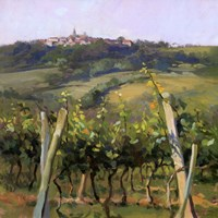 Flauvigny View Fine Art Print