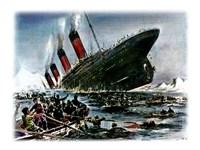 Titanic Sinking Fine Art Print