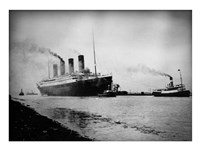 Titanic's Tugboats Framed Print