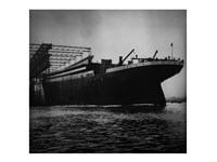 Titanic Constructed at the Harland and Wolff Shipyard in Belfast Fine Art Print