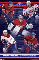 Canadiens® - Team 10 Wall Poster