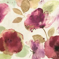 Watercolour Florals I Fine Art Print