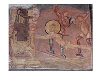 Flagellation St Erasmus Crypta Balbi Fine Art Print