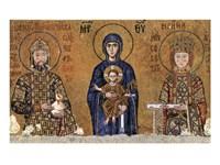Virgin and rulers Fine Art Print