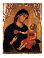 Madonna of the Poppy Fine Art Print