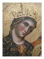La Vierge et I enfant Fine Art Print