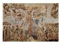 Fresken in the Upper Church Fine Art Print