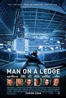 """Man on a Ledge - 11"""" x 17"""""""