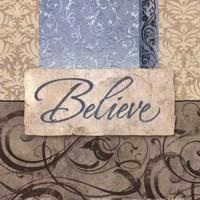 "Believe by Elizabeth Medley - 12"" x 12"", FulcrumGallery.com brand"