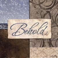 "Behold by Elizabeth Medley - 12"" x 12"", FulcrumGallery.com brand"