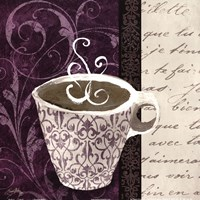 "12"" x 12"" Coffee Cup Art"