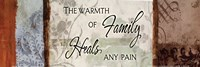 "Warmth Of A Family by Elizabeth Medley - 18"" x 6"""