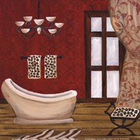 "Palm Beach Bath III by Gina Ritter - 12"" x 12"" - $9.99"