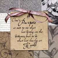 """Purpose by Elizabeth Medley - 12"""" x 12"""""""