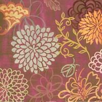 """floral soiree I by Rebecca Lyon - 12"""" x 12"""""""
