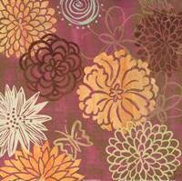 """floral soiree II by Rebecca Lyon - 12"""" x 12"""""""