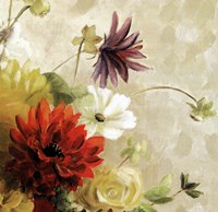 """Early Bloomers I by Lanie Loreth - 6"""" x 6"""""""