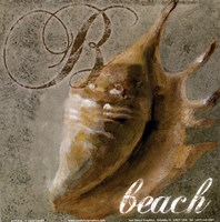 "Beach by Lanie Loreth - 6"" x 6"""