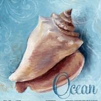 """Ocean - blue by Lanie Loreth - 12"""" x 12"""""""