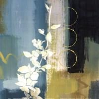 """Mediterranean Floral II by Lanie Loreth - 12"""" x 12"""" - $9.99"""